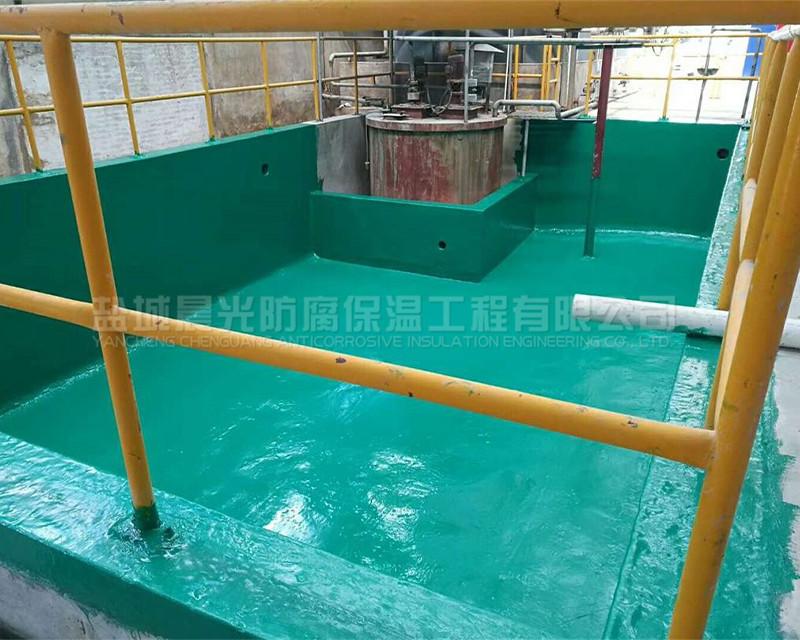 水池环氧防腐